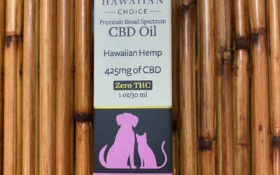Hawaiian Choice CBD Oil Spray Pet